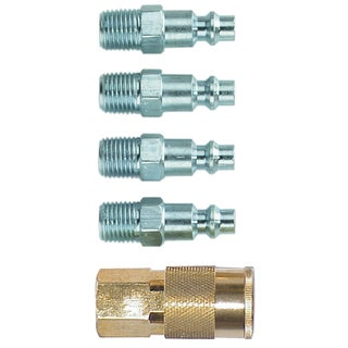 Campbell Hausfield MP2920 Industrial Coupler & Plug 5 Piece Set