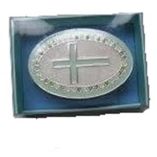 Elegance Christening Keepsake Box (Option: Silver)