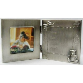 Heim Concept Pewter Birth Record Frame