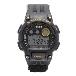 Casio Men's 'Super Illuminator' Quartz Black Casual Watch