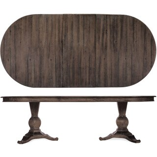 A.R.T. Furniture St. Germain Double Pedestal Dining Table - Coffee