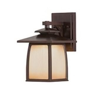 Feiss Wright House 1 Light Sorrel Brown Lantern
