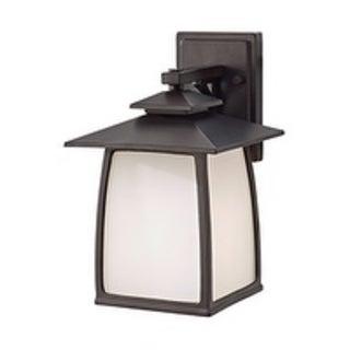 Feiss Wright House 1 Light Oil Rubbed Bronze Lantern