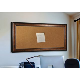 American Made Rayne Bronze and Black Corkboard