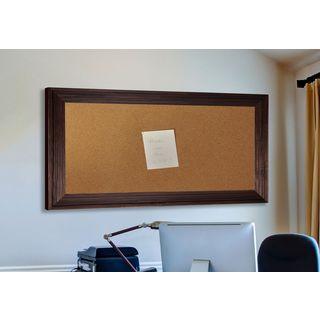 American Made Rayne Barnwood Brown Corkboard