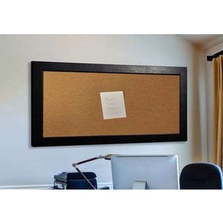 American Made Rayne Black Superior Corkboard