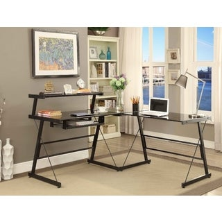 Picket House Bueller Desk in Black