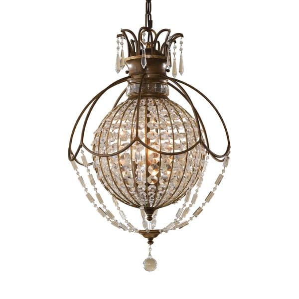 Feiss Bellini 3 Light Oxidized Bronze Chandelier