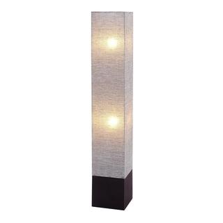 Benzara Inc. Pink and Brown Decorative Floor Lamp (8 x 8 x 47)