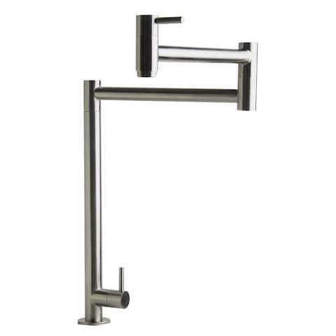 ALFI Brand AB5018-BSS Retractable Pot Filler Faucet