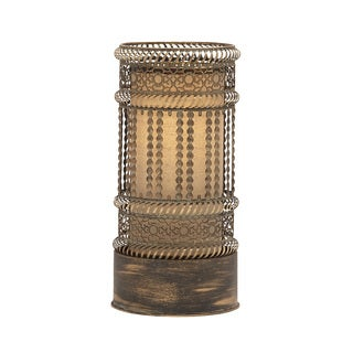 Benzara Exquisite Metal Accent Lamp