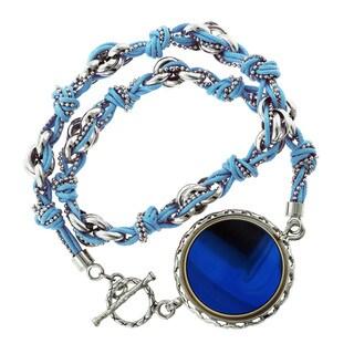 GlamFit Jewelry Ariel Sterling Silver Fitness Tracking Bracelet