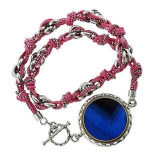 GlamFit Jewelry Britany Sterling Silver Fitness Tracking Bracelet