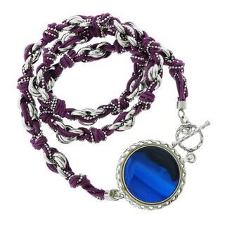 GlamFit Jewelry Viola Sterling Silver Fitness Tracking Bracelet