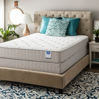 Spring Air Value Collection Northridge Full-size Plush Mattress Set - White