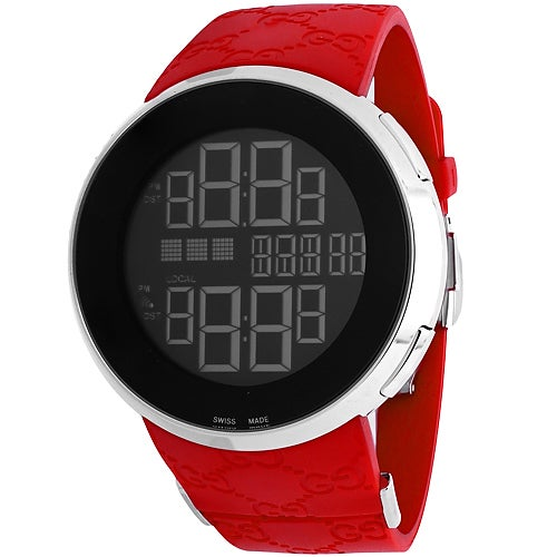 29f6dfffb77 Shop Gucci Men s Digital Watches - Free Shipping Today - Overstock -  11856856