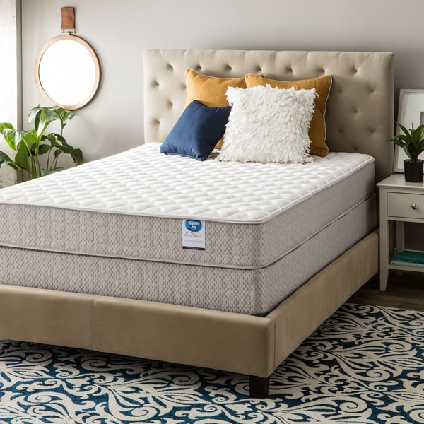 shop spring air value collection northridge full size firm mattress set on sale free. Black Bedroom Furniture Sets. Home Design Ideas