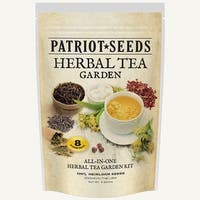 Herbal Tea Garden Heirloom Easy-to-Grow Seed Kit in a Can (Pack of 8)