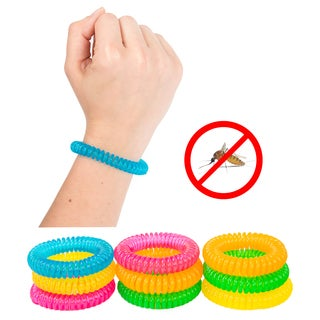 Pure Garden Mosquito Repellent Bracelets (Pack of 10)