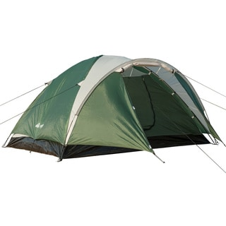 Semoo Double Layer, 3-4 Person, 3-Season Lightweight Camping/Traveling Tent with Carry Bag
