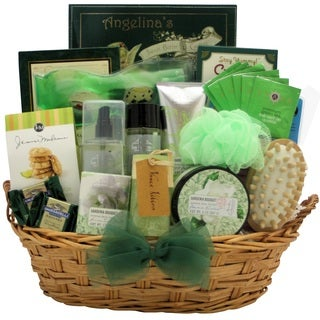 Gardenia Bouquet Spa Haven Bath & Body Mother's Day Gift Basket