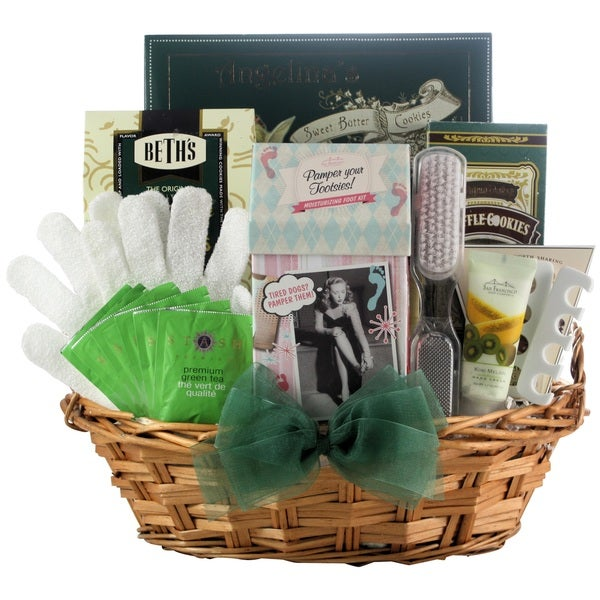 Hand and foot spa gift basket free shipping today overstock hand and foot spa gift basket negle Image collections