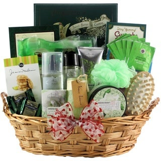 Gardenia Bouquet Spa Haven Bath & Body Valentine's Day Gift Basket