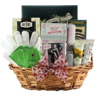 Hands & Feet Specialty Spa Bath & Body Valentine's Day Gift Basket