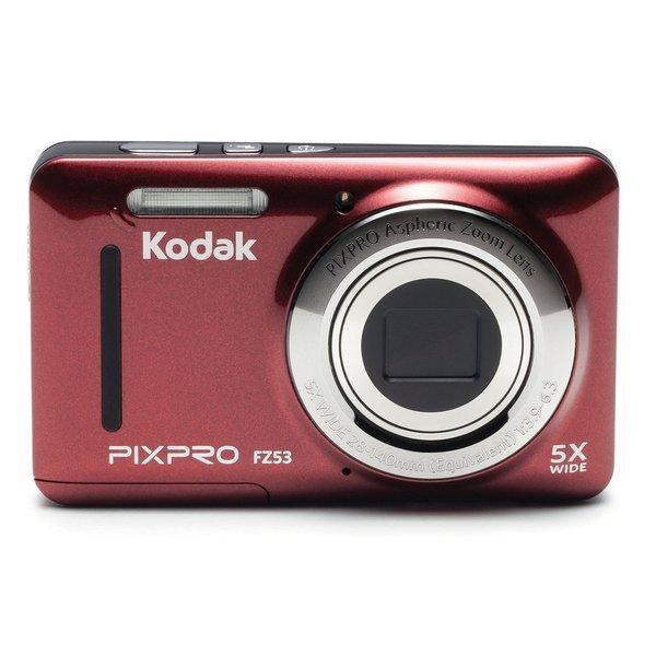 Kodak PIXPRO FZ53 16.2 Megapixel Compact Camera - Red