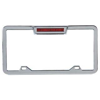 Pilot Automotive LED Lighted License Plate Frame for Vehicles Automobile