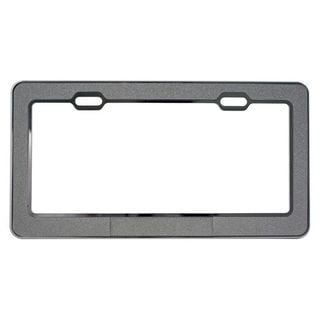 Pilot Automotive Metallic Powder License Plate Frame for Vehicles Automobile