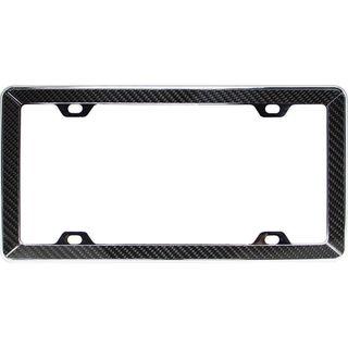 Pilot Automotive Carbon Fiber License Plate Frame for Vehicles Automobile