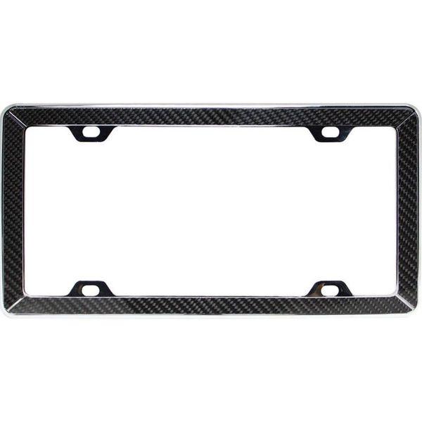 Shop Pilot Automotive Carbon Fiber License Plate Frame for Vehicles ...