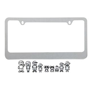 Pilot Automotive Family License Plate Frame for Vehicles Automobile