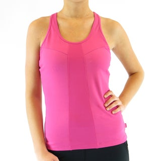Ryka Women's Solid-colored Polyester/Spandex Racerback Tank Top