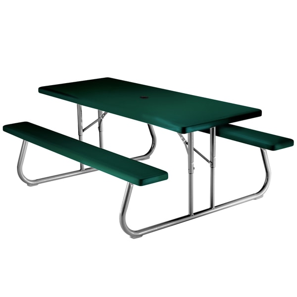 Lifetime 6 foot picnic table free shipping today for 10 person picnic table
