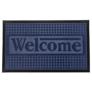 Home Fashion Designs Trenton Indoor/Outdoor Non-Slip Welcome Mat