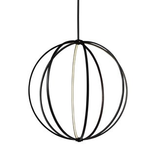 Feiss Globe 48-inch LED Globe Pendant Oil Rubbed Bronze Pendant