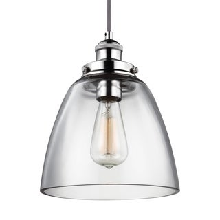 Feiss 1-light Polished Nickel Pendant