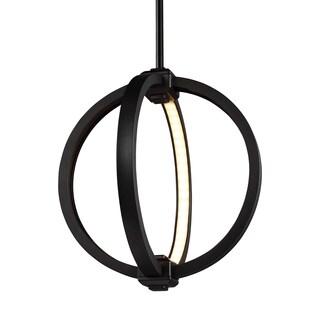 Feiss Globe 12-inch LED Globe Pendant Oil Rubbed Bronze Pendant
