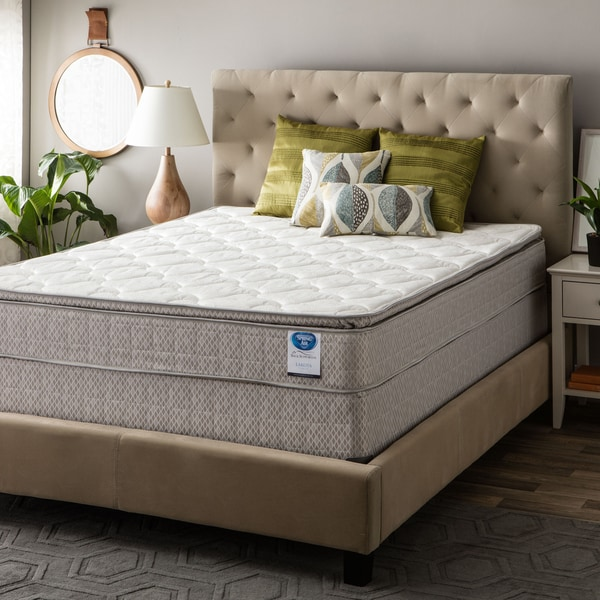 shop spring air value collection lakota twin xl size pillow top mattress set on sale free. Black Bedroom Furniture Sets. Home Design Ideas