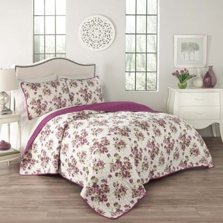 Traditions by Waverly Primrose 3-Piece Quilt Set