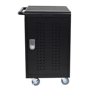 Luxor 30-Tablet Charging Cart With Keypad Lock