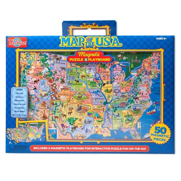 TS Shure USA Magnetic Playboard Puzzle