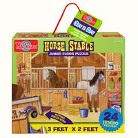 TS Shure Horse Stable Jumbo Floor Puzzle