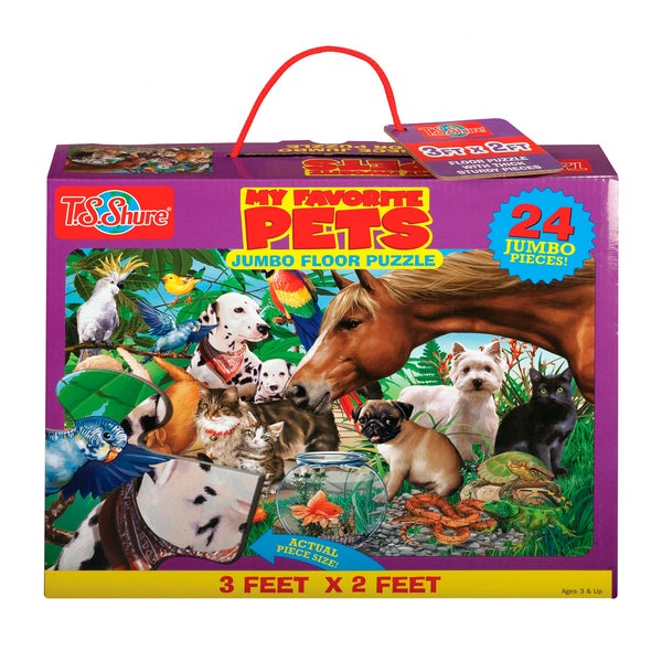 TS Shure My Favorite Pets Jumbo Floor Puzzle