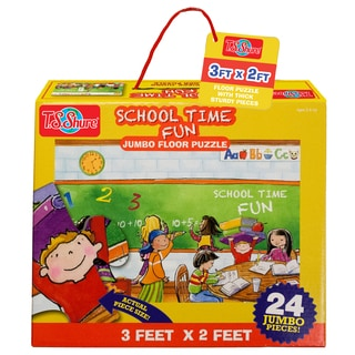 TS Shure School Time Fun Jumbo Floor Puzzle