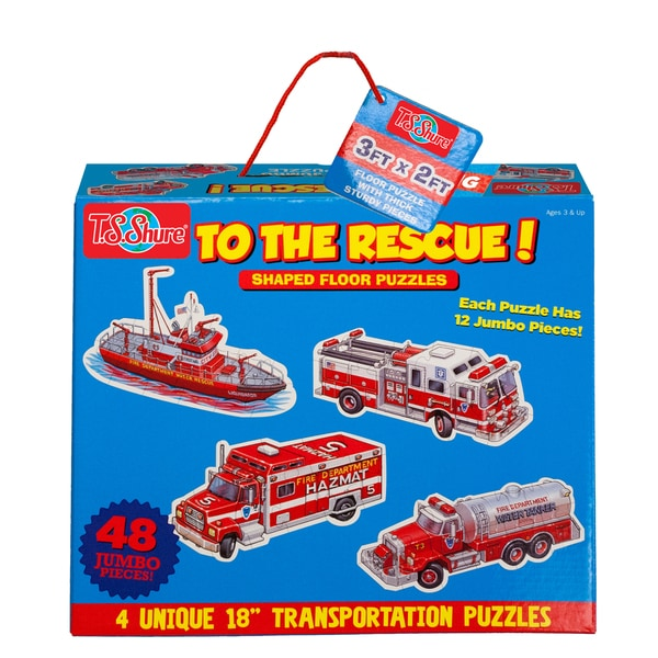 TS Shure To The Rescue! Jumbo Floor Puzzles