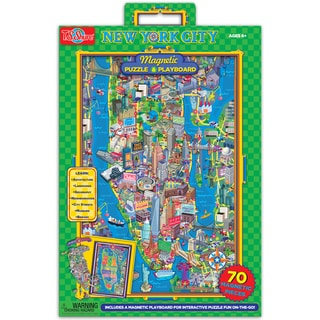 TS Shure New York City Magnetic Playboard and Puzzle