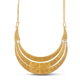 Adoriana Greek Goddess Gold Over Brass Bib Necklace|https://ak1.ostkcdn.com/images/products/11858965/P18759150.jpg?impolicy=medium